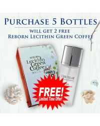 Royal Facial Essence ( x5 / x3 ) Box - Get ( 2 Free / 1 Free ) Reborn Lecithin Green Coffee Plus (Limited Time Only)