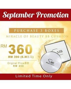 Miracle Of Beauty BB Cushion x3 Box - Limited Time Only