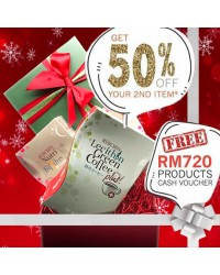 Reborn Lecithin Green Coffee Plus + Reborn Nutri Bifidus (Xmas Limited Time Only)