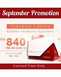 Reborn StemCell Placenta x3 Box - Limited Time Only