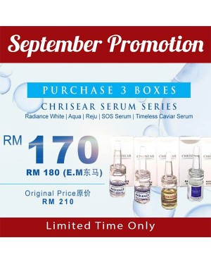 Chrisear Serum Series x3 Box - Limited Time Only